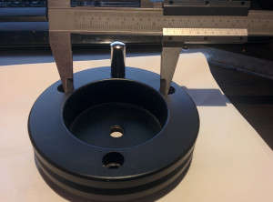 Measuremements of the baader adapter for HEQ5 PRO